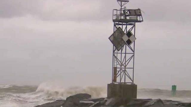 Hermine producing dangerous rip currents, beach erosion