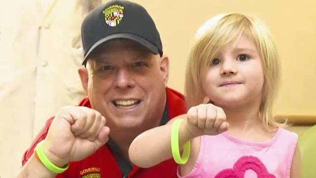 The inside story of Larry Hogan's battle against cancer