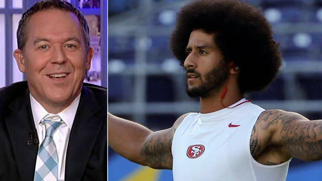 Gutfeld: Kaepernick exercises his right to be a jerk