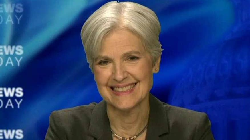 Green Party presidential nominee on 'Fox News Sunday'