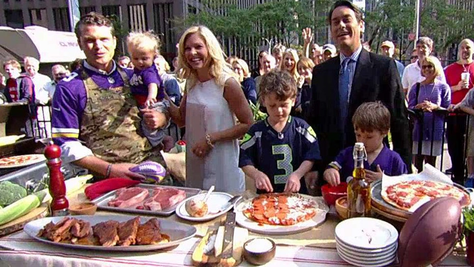 Cooking with 'Friends': Pete Hegseth grills steak and pizza