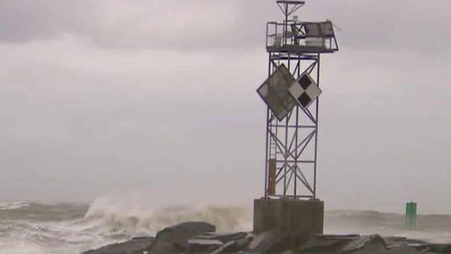 Hermine producing dangerous rip currents, beach erosion