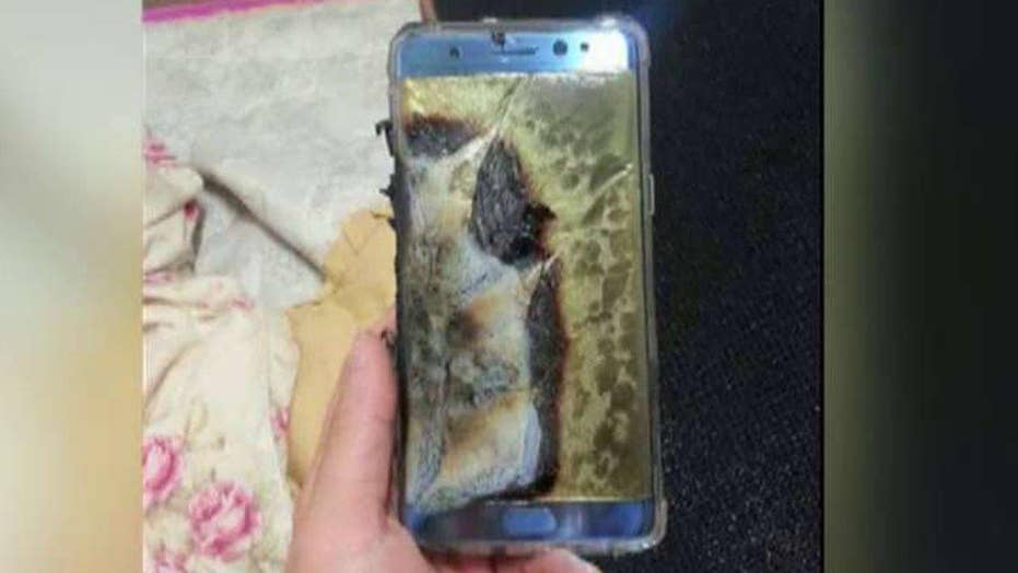 Samsung recalls Galaxy Note 7 phones after battery fires