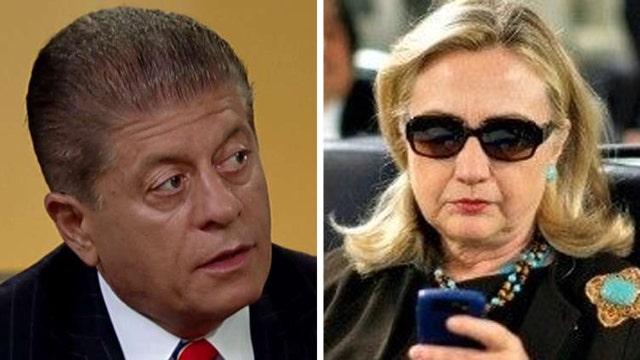 Napolitano: Clinton's obliviousness lessened criminality