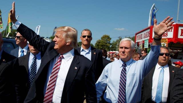 Trump, Pence barnstorm the Buckeye State