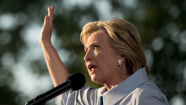 Clinton's no-press streak