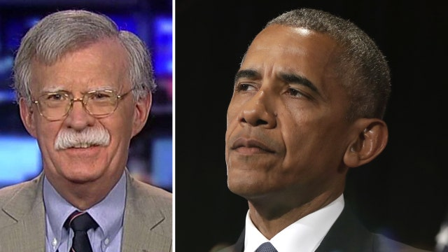 Bolton: Obama stairs snub in China is a 'calculated insult'