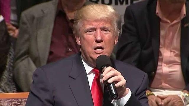 Donald Trump makes strong push for the veteran vote