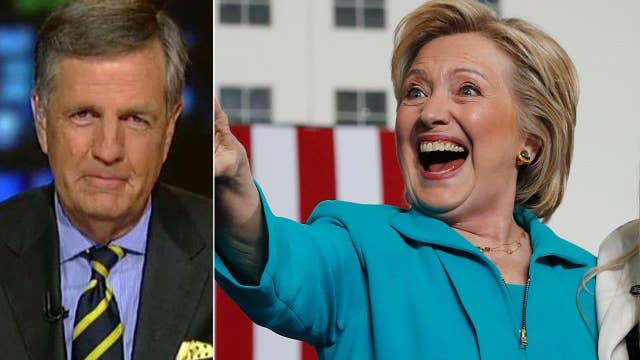 Brit Hume: Clinton being held down by email questions