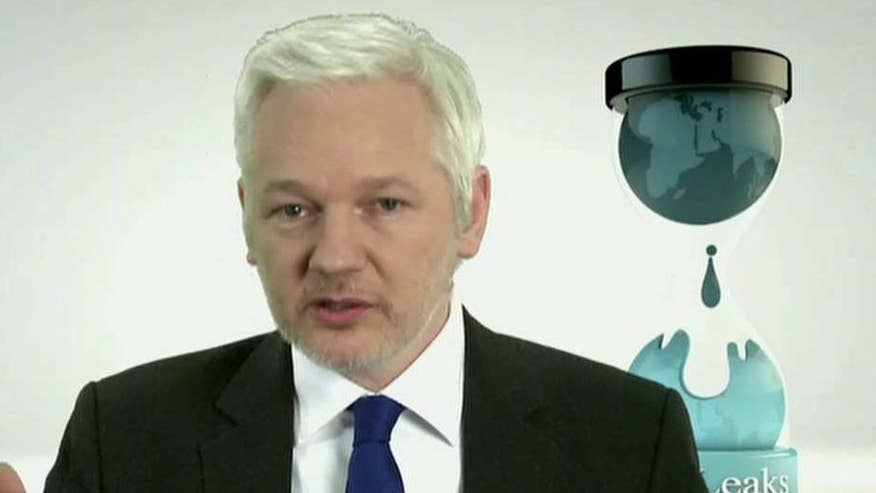 On 'Hannity,' WikiLeaks founder discusses the email scandal, 2016 election