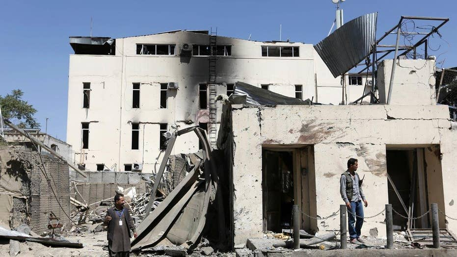 Afghan police kill gunmen after Kabul attack