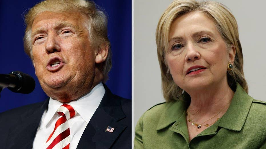 Trump beating Clinton in trust, among Independents