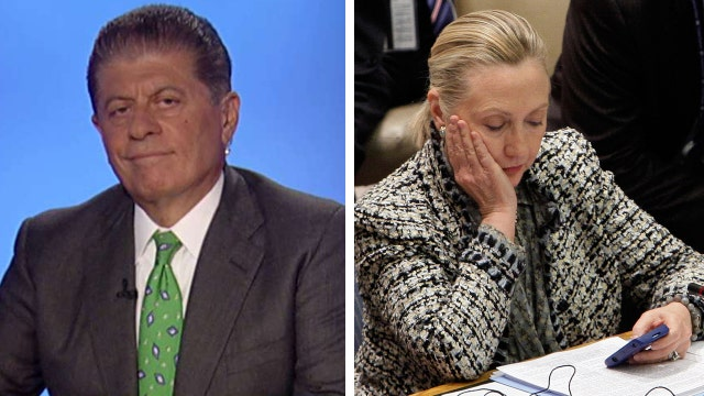 Napolitano lays out two cases against Clinton in email saga