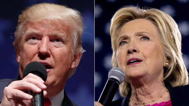Clinton, Trump face off on national security ahead of forum
