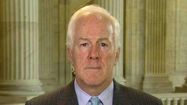 Cornyn on Clinton Foundation and 'appearance of impropriety'