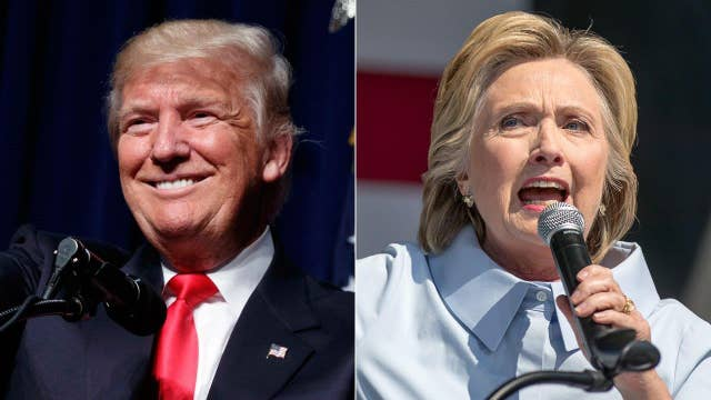Trump, Clinton trade jabs ahead of forum
