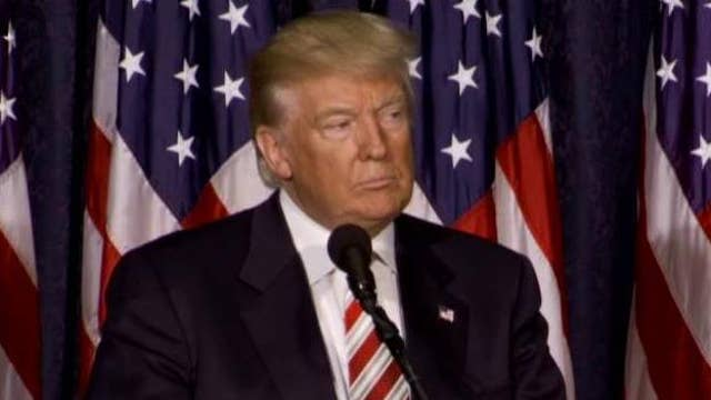 Trump: Clinton is 'totally unfit' to be commander in chief
