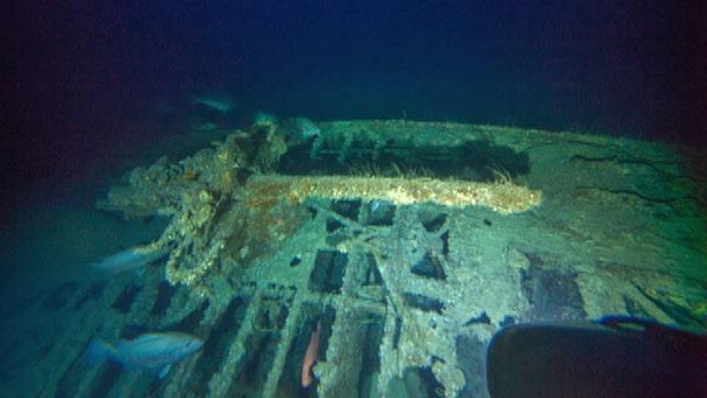 Remains of German U-boat found off North Carolina coast