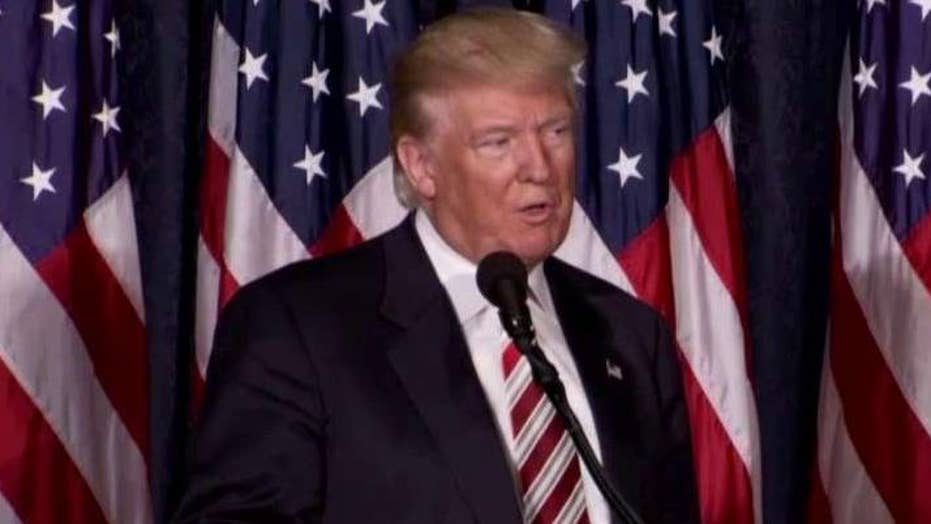 Donald Trump outlines his plan to increase defense spending