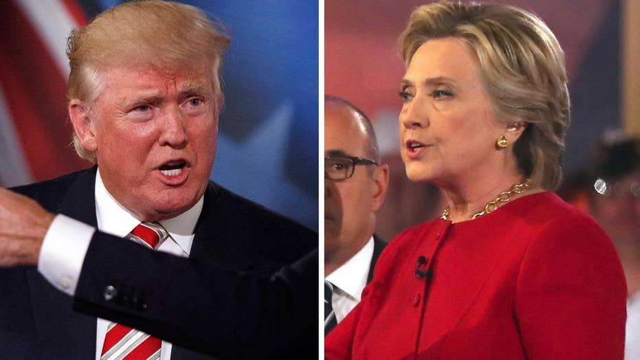 Trump and Clinton asked to defend positions on Iraq War