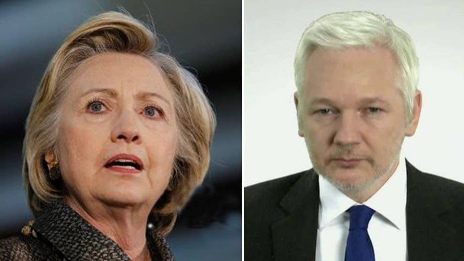 Assange: Clinton, liberal press creating 'demon' climate
