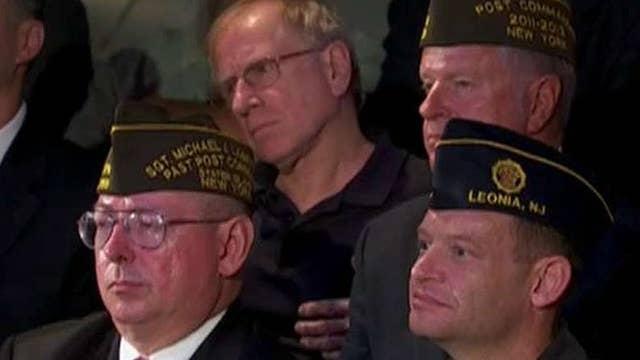 Military veterans question Clinton, Trump at forum
