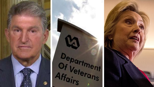 Sen. Manchin talks Clinton's reaction to VA scandal