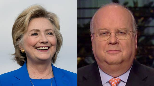 Rove skeptical of Clinton's 'kitchen sink' attack on Trump