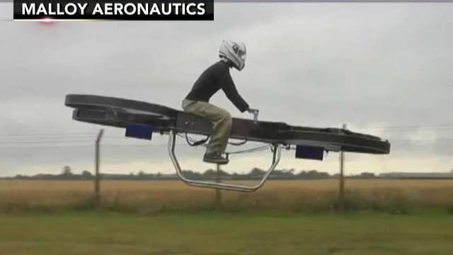 Firepower: 'Star Wars'-style speeders could carry US troops
