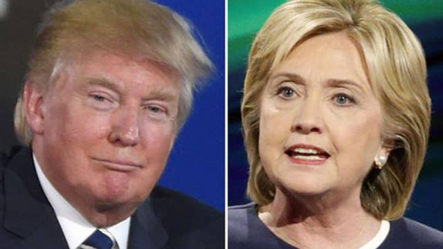 Clinton and Trump battle over national security