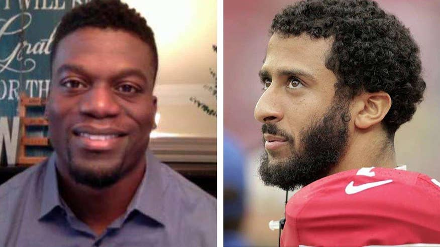 Baltimore Ravens' tight end Benjamin Watson goes on 'Fox & Friends' to talk race in America