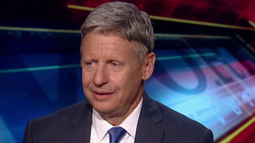 Libertarian nominee gets honest about his mistakes on 'Your World'