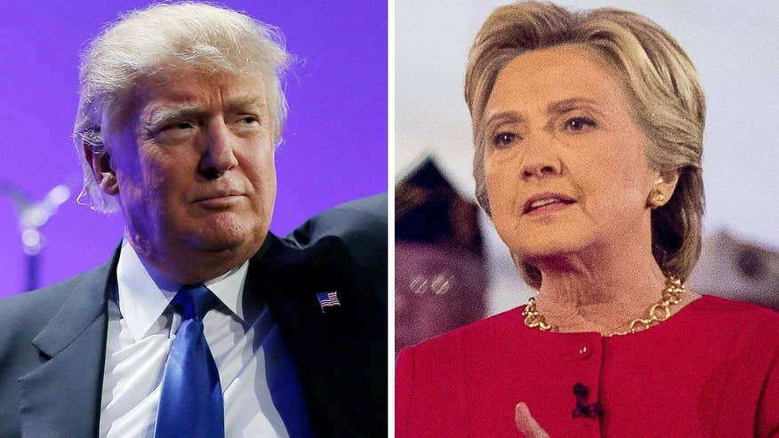 Why does the race for the White House between Donald Trump and Hillary Clinton appear to be narrowing and who has the advantage?
