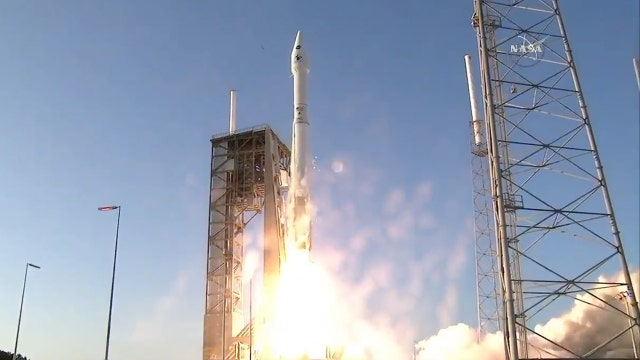 Liftoff! NASA launches spacecraft on asteroid mission