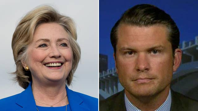 Pete Hegseth: Hillary Clinton's background can't be defended