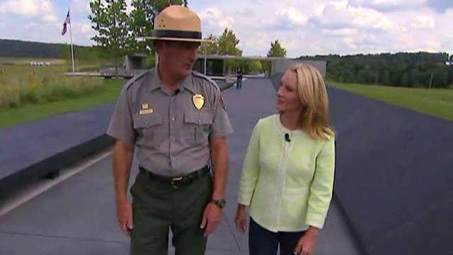 Dana Perino tours the Flight 93 National Memorial