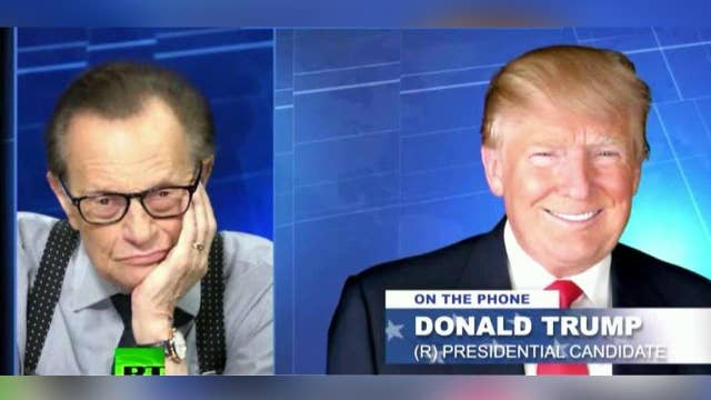 Critics blast Trump for Larry King interview on Russia TV