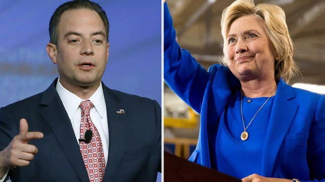 RNC chair under fire for suggesting Clinton smile
