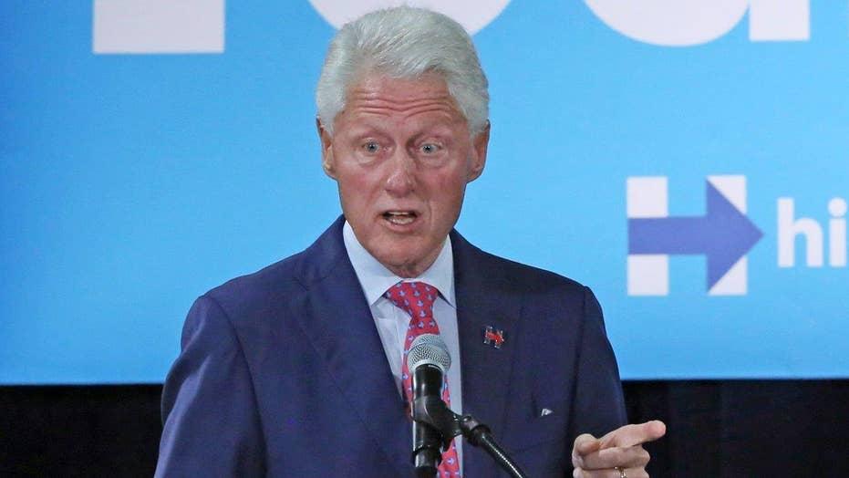 Bill Clinton says Trump's campaign slogan is racist