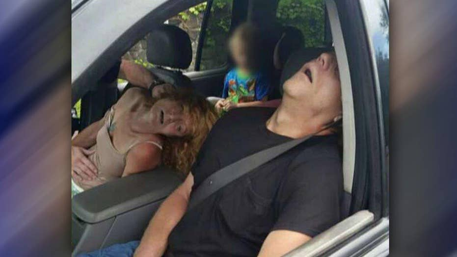 Ohio police post picture of heroin overdose
