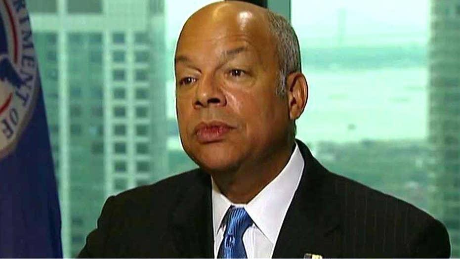 Secretary Johnson on diversified threats facing the homeland