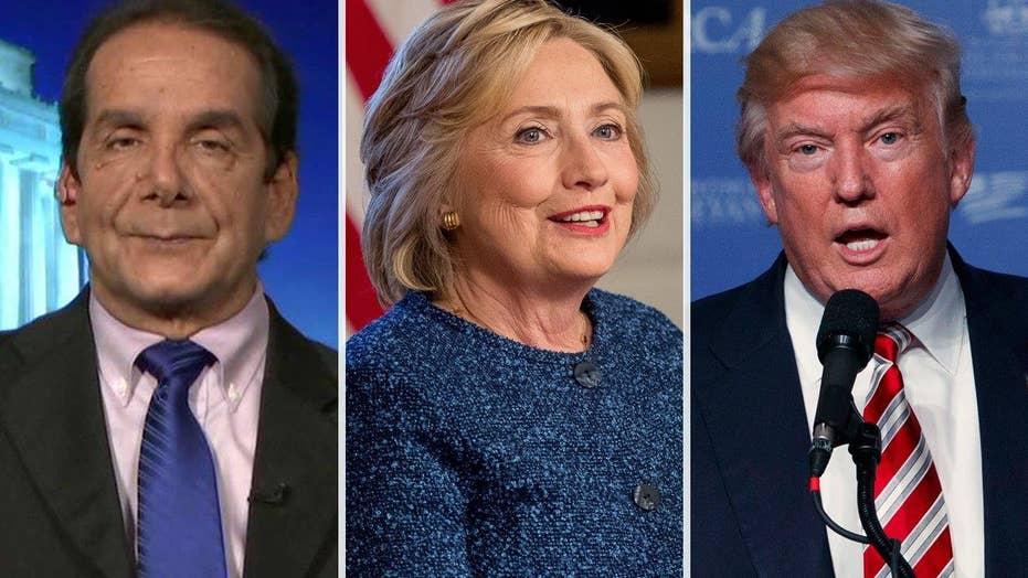 Krauthammer: Clinton has set the debate bar so low for Trump