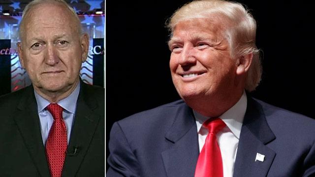 Retired general: Trump will restore military readiness