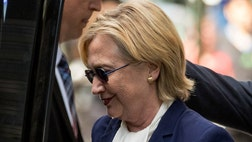 I'm reading Hillary Clinton's political chart. And it indicates at least four ways that concerns over her personal health could adversely affect the health of her presidential run.