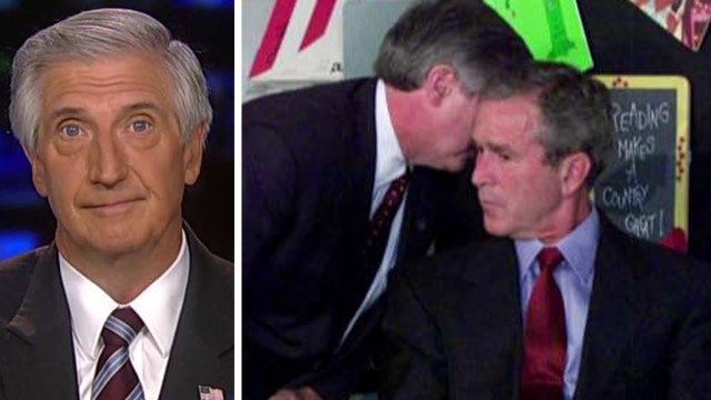 Former aide describes telling Bush 'America is under attack'
