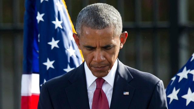 President Obama pays tribute to victims of 9/11