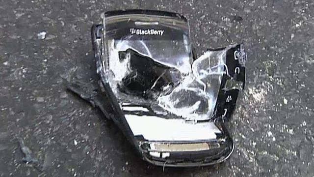 What does it take to destroy a BlackBerry?