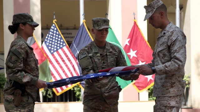US and NATO forces honor 9/11 victims at ceremony in Kabul