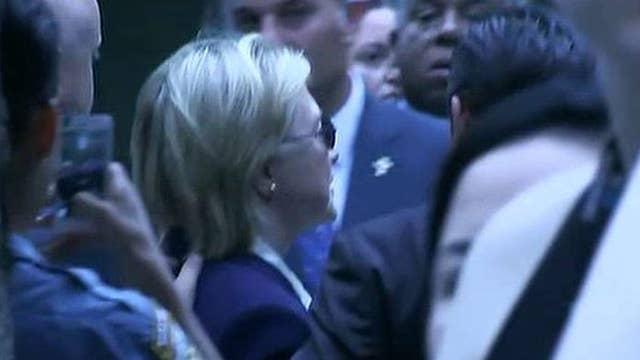 Campaign says Clinton felt 'overheated' at 9/11 ceremony