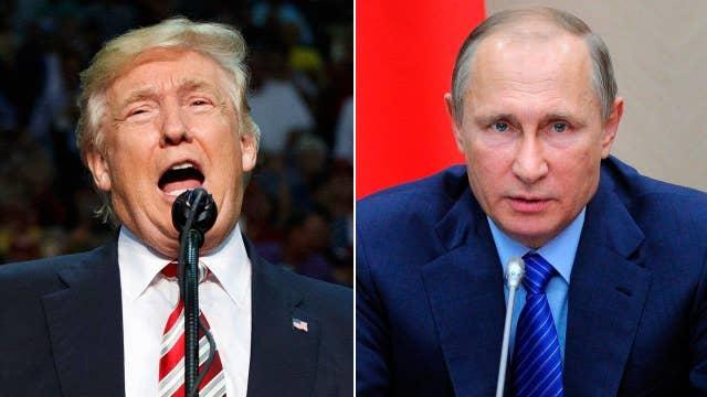 Pressing Trump on Putin